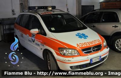 Pubblica Assistenza Croce Bianca Finale Ligure Opel Zafira I Serie