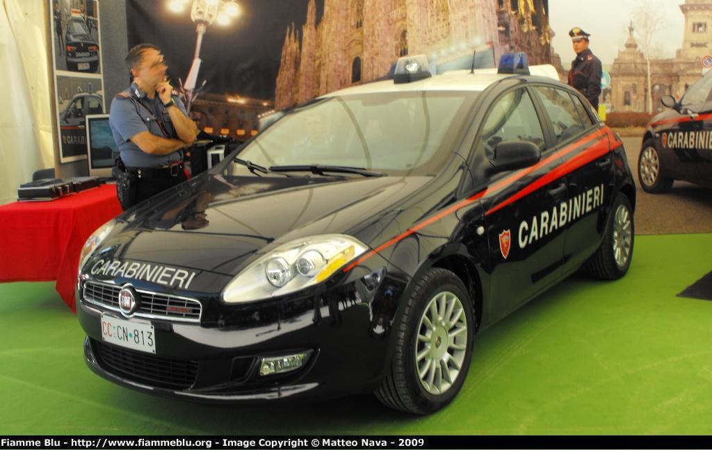 Giubbotto goretex carabinieri