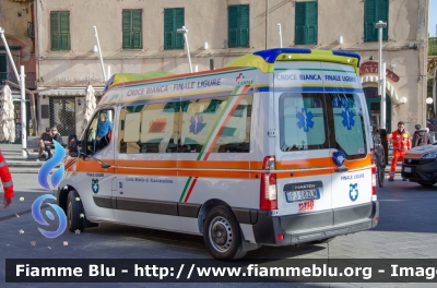 Pubblica Assistenza Croce Bianca Finale Ligure Renault Master Iv